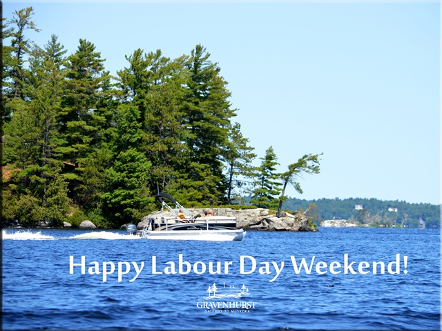Happy Labour Day from Town of Gravenhurst