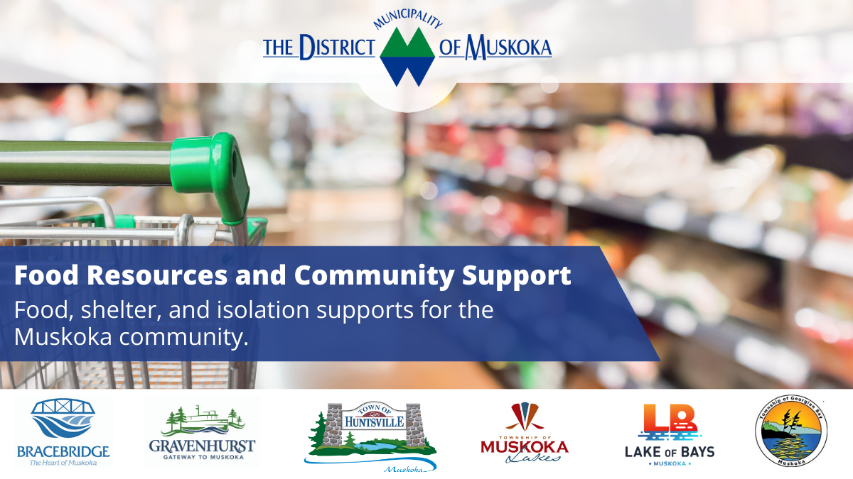 Food and Community Support Twitter Promo