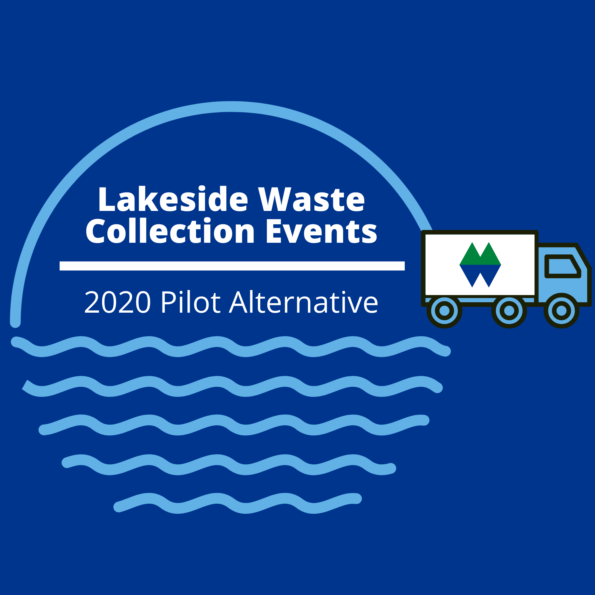 Lakeside Waste Collection Events Logo