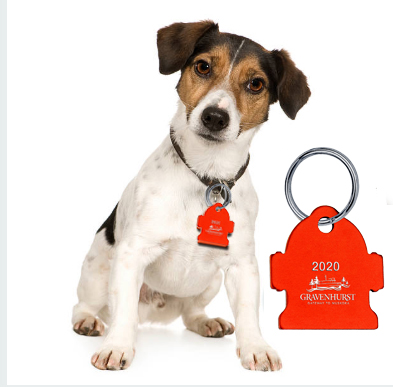Town of Gravenhurst 2020 Dog Tags Available