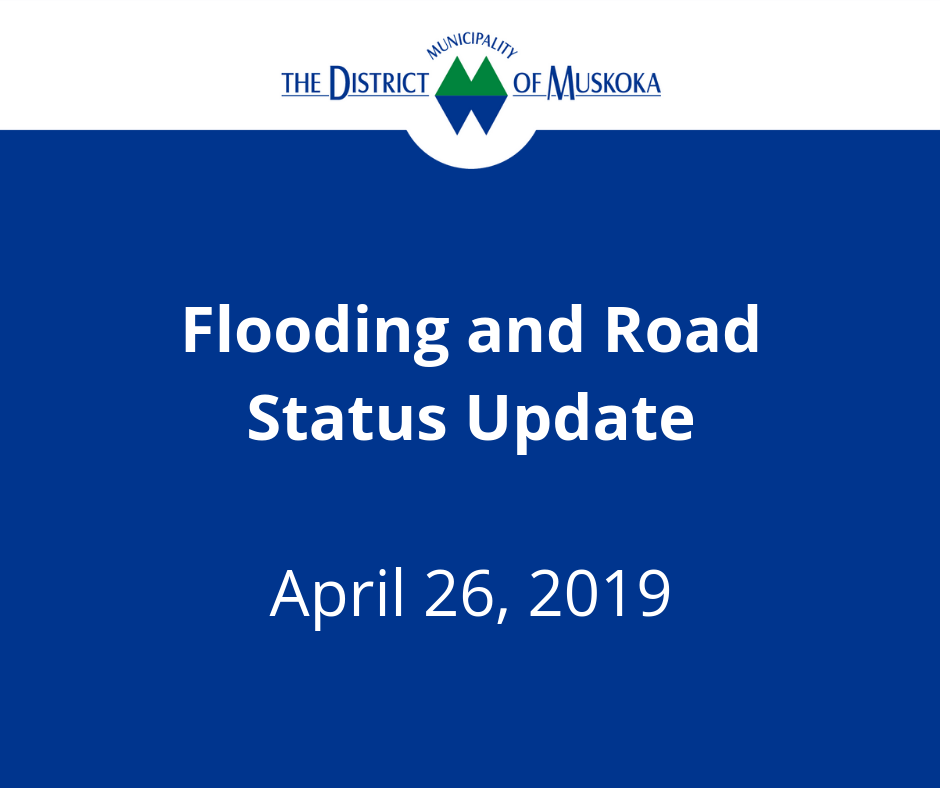 Flooding and Road Status Update