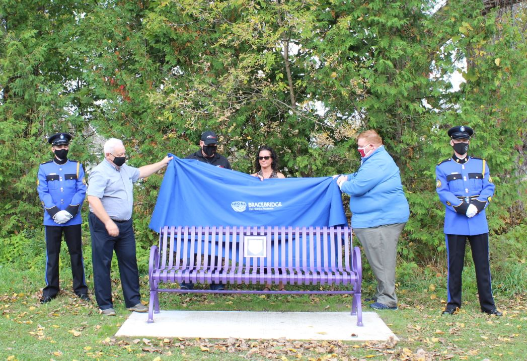Wendy Boland Bench Unveiling