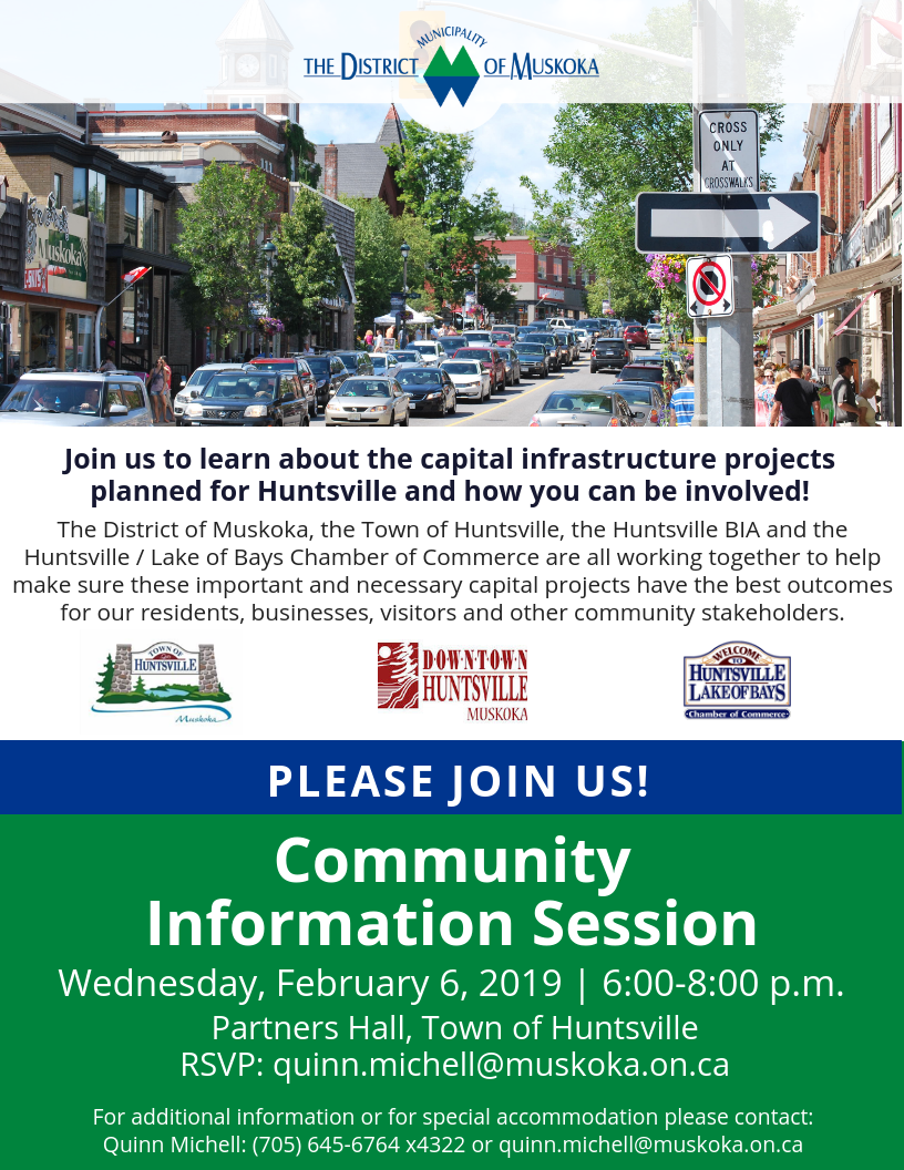 Community Information Session - invitation