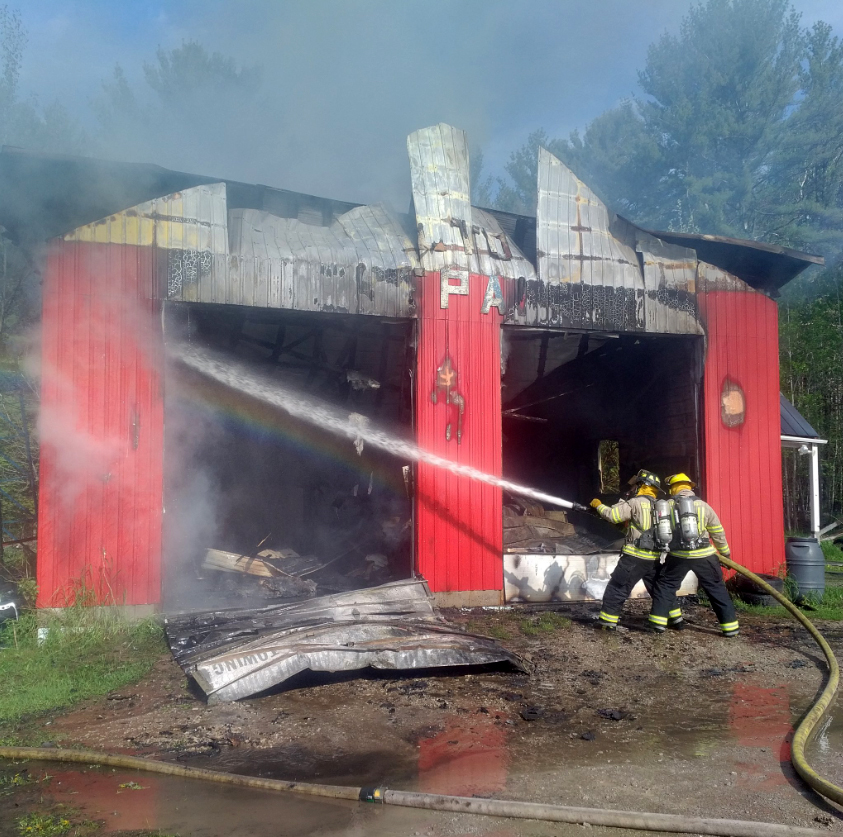 Garage Fire May 26 2019